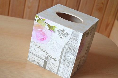 Krabička na kapesníky - LONDON