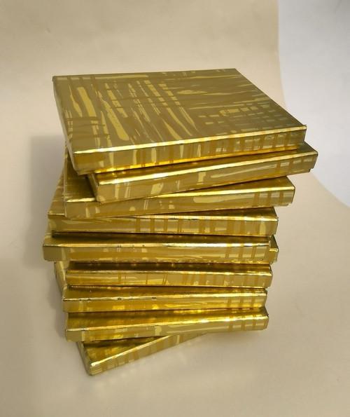 krabička HONZA - zlatá se šmouhami