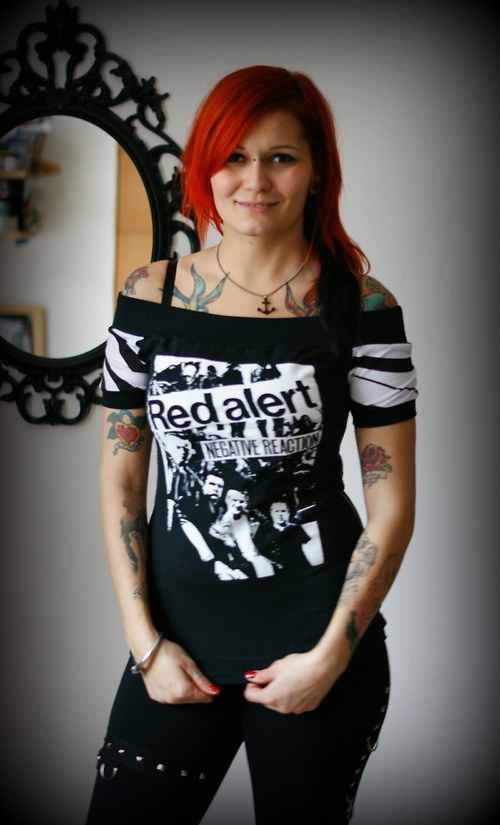 RARA - DIY triko RED ALERT