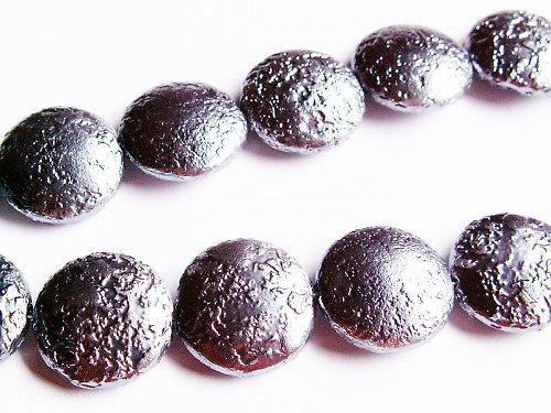 Čočky s šedou metalízou ((KOM98))