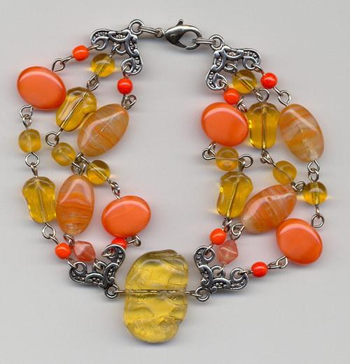 Oranžový štěrkáček