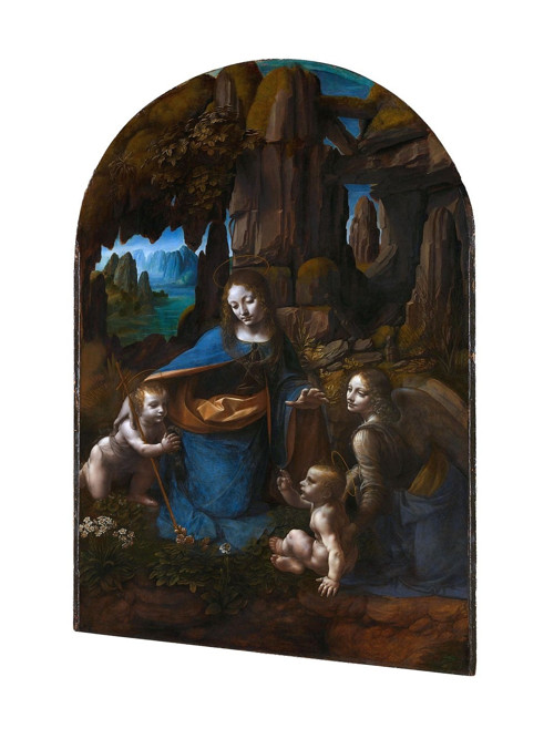 Bavlněný panel Vinci 10