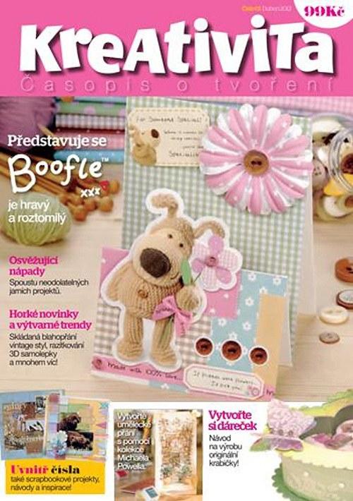 Časopis KREATIVITA - 72 stran rad a nápadů 04/2012