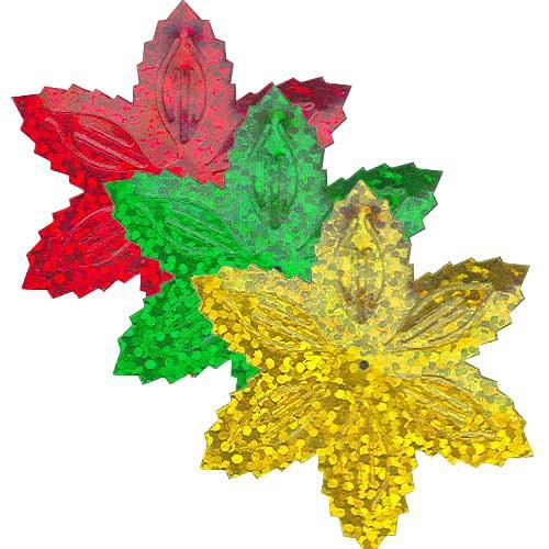 Flitry vánoční hvězdy 9g (3x3g)  =1433-164,163,183