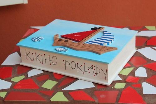 Dřevěná krabička pro malé NÁMOŘNÍKY
