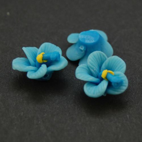 Orchidej korálek fimo   KV18