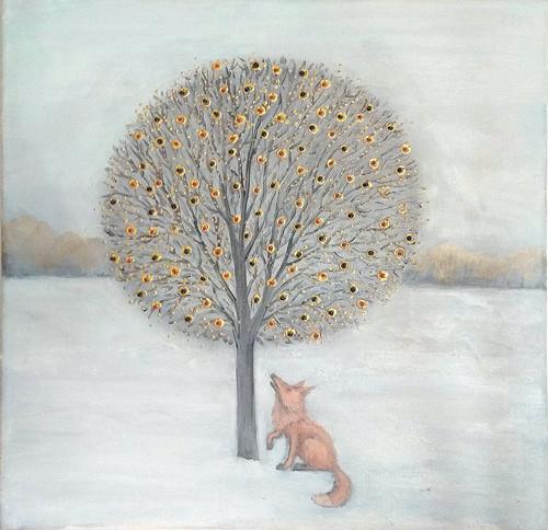 Obraz - Liška a strom
