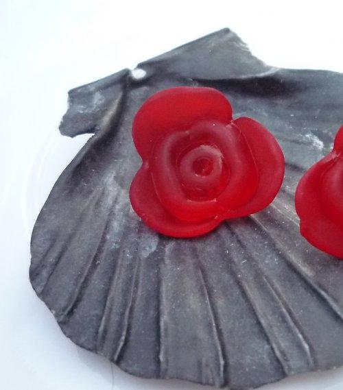 akrylové růže 4 ks