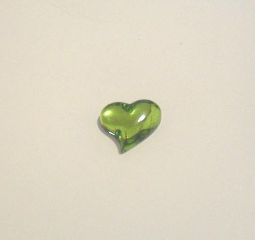 srdíčko olivín  mugle16x15 mm