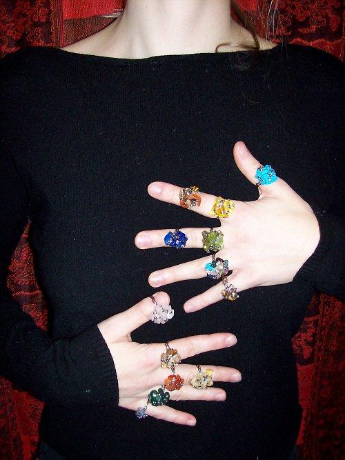 kamínky na dlani....
