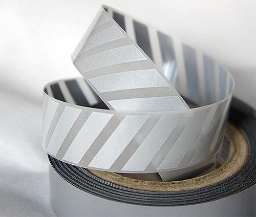 Nažehlovací reflexní páska - PRUHY