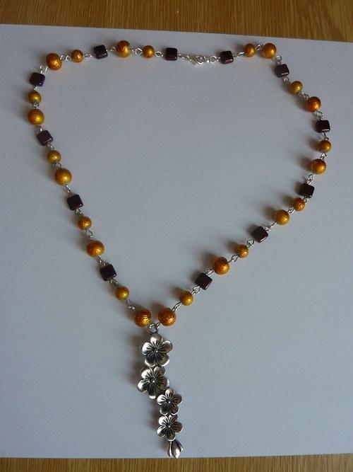 Podzimní náhrdelník