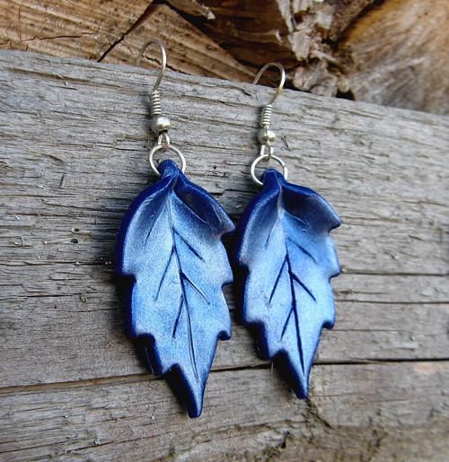Dotek podzimu- modré