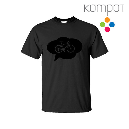 Pánské tričko s KOLEM :: šedé vel. S-2XL