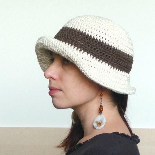 letně vanilkově - klobouk do kapsy