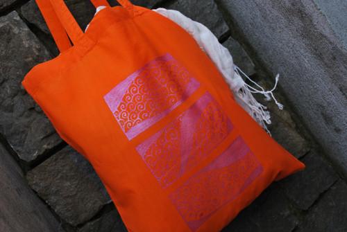Bavlněná taška s ornamentem