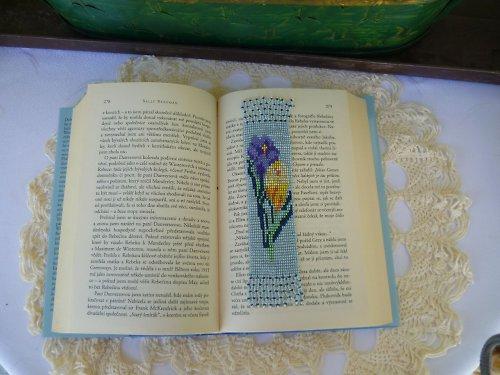 Záložka do knihy, pozdrav jara