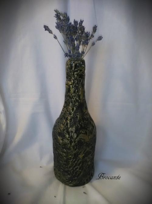 váza 2 - černozlatá