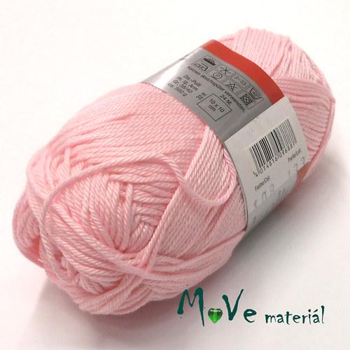 Limone - bavlněná příze 50g růžová