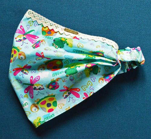 Bavlněný šátek, čelenka, bandana,.......