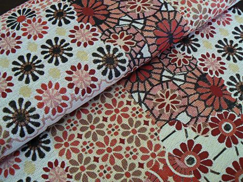 Červený patchwork - potahovka