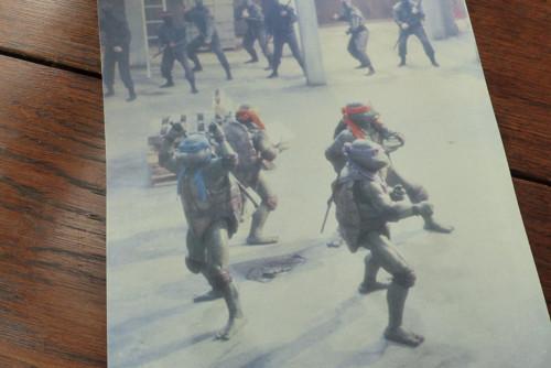 Želví Nindžové II...filmový prospekt, fotoska
