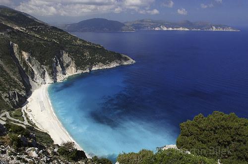 pláž Mirtos II, Kefalonia, Řecko