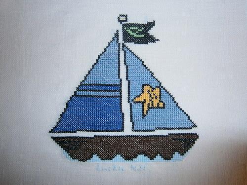 Vyšívka plachetnice