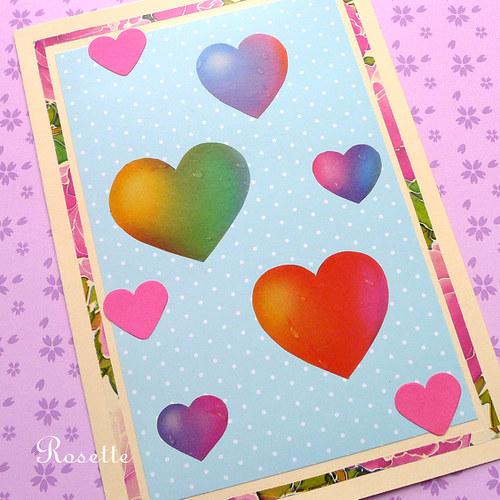 Duhová láska - přání
