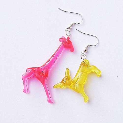 Žirafa a býček
