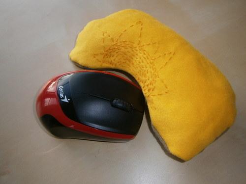 Podložka pod zápěstí při práci na PC - Slunce