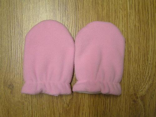 Kojenecké rozepínací rukavičky