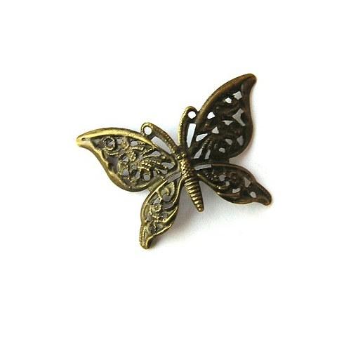 Filigrán, motýl - 1 kus