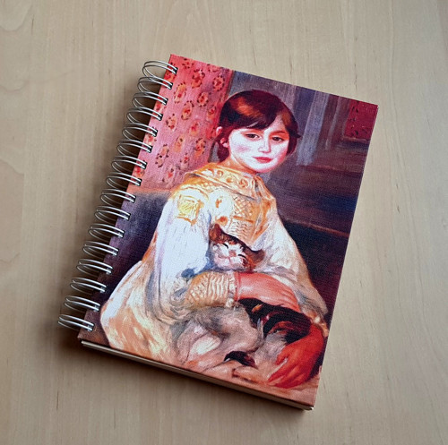 Julie s kočkou, zápisník