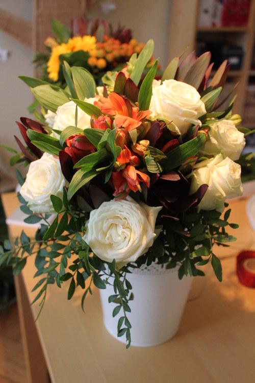 Individuální floristický kurz Základy vazby květin