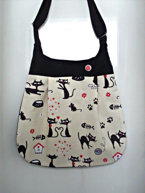 Taška s kočkami