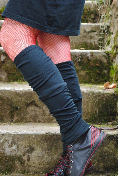 Nohavičky na kotníčky :) černé