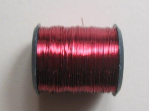 drátek 0,3 mm červená barva