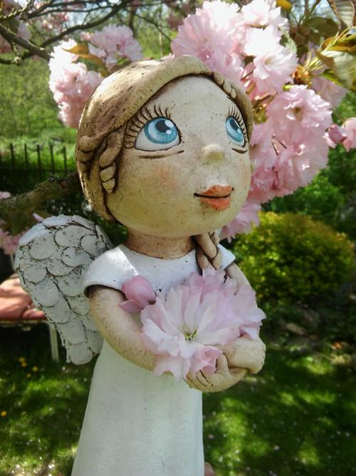 Andělka s copánkem (na objednávku)