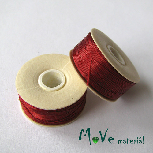 NYMO niť 0,3mm/1ks, červená