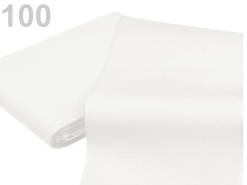 Taftová stuha 108mm (10m) - bílá
