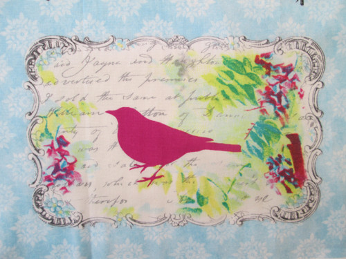 SONG BIRDS panel