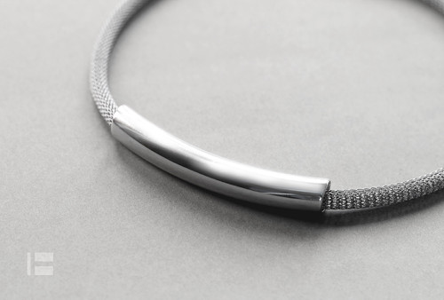TUBUS MESH náhrdelník