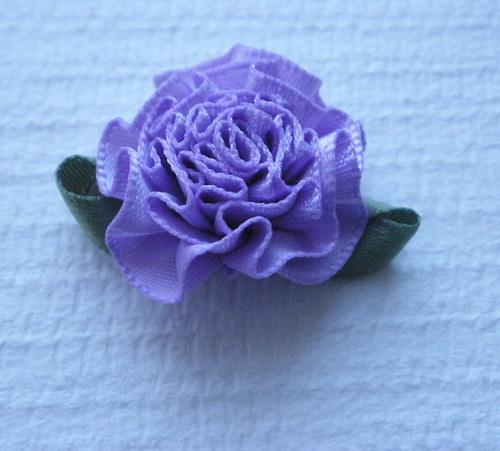 Růžička fialová - 2 ks