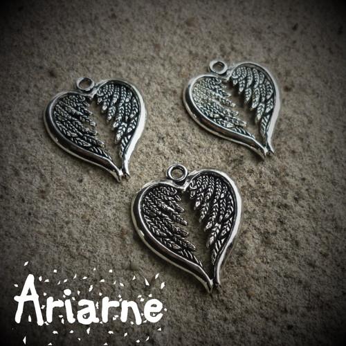 Srdce anděla - přívěsek 1 ks