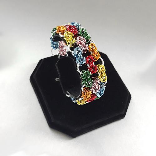 Kaskáda barev - náramek