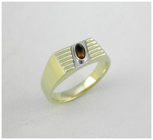 Prsten Tygří oko