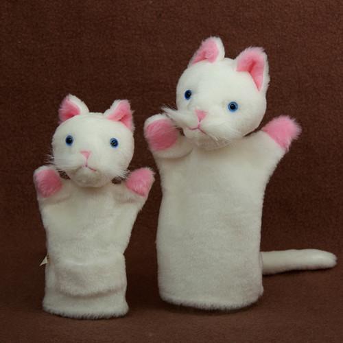 Bílé kočičky - autorská hračka