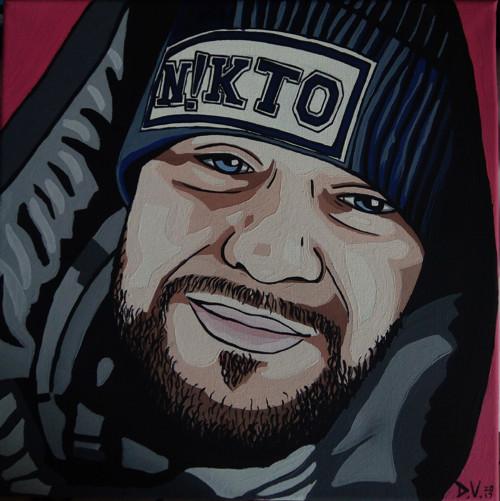 Portrét rappera - Kali