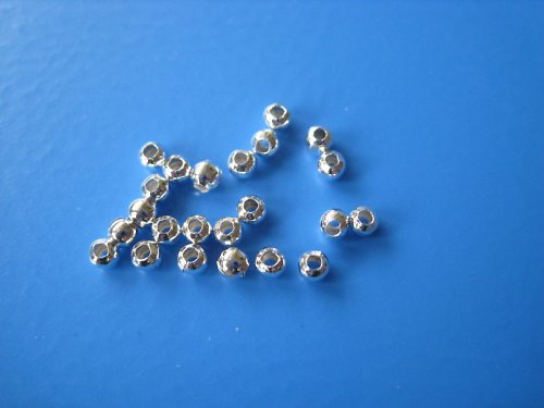 Korálek kovový, průměr 3 mm, cena je za 30 Ks